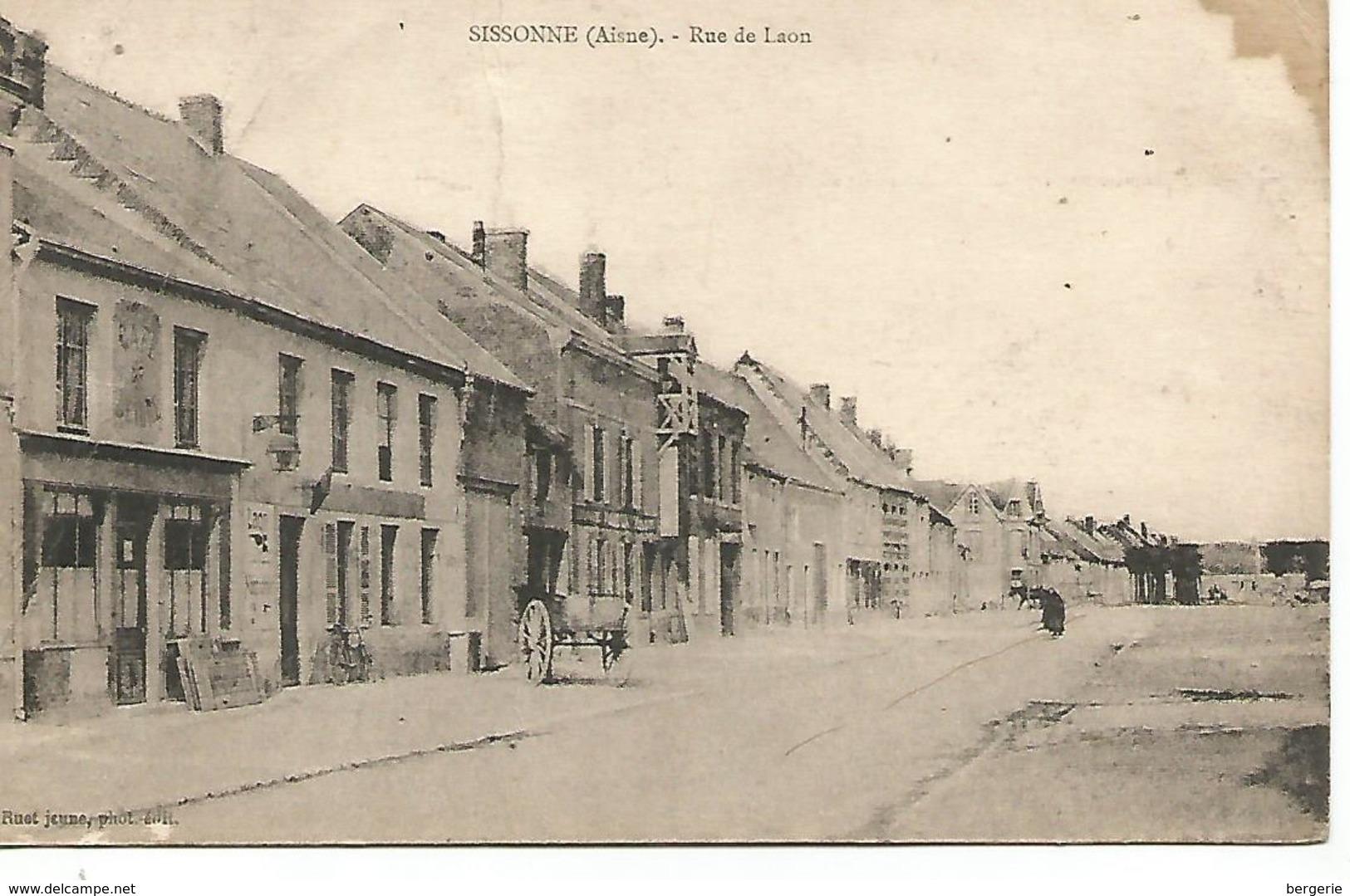 02     Sissonne      Rue De Laon - Sissonne