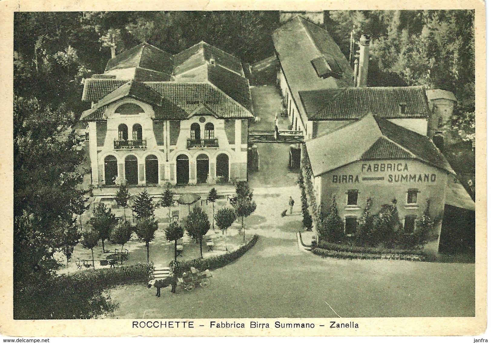 ROCCHETTE - FABBRICA BIRRA SUMMANO - ZANELLA - Vicenza