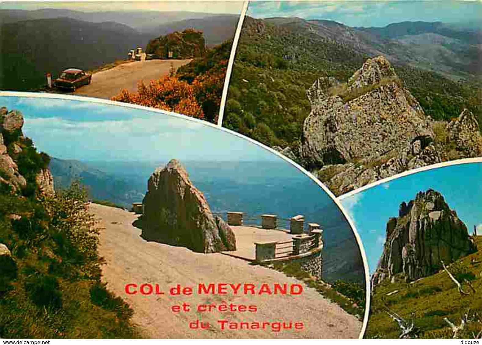 07 - Ardèche - Le Col De Meyrand Et Le Massif Du Tanargue - Voir Scans Recto-Verso - Autres Communes