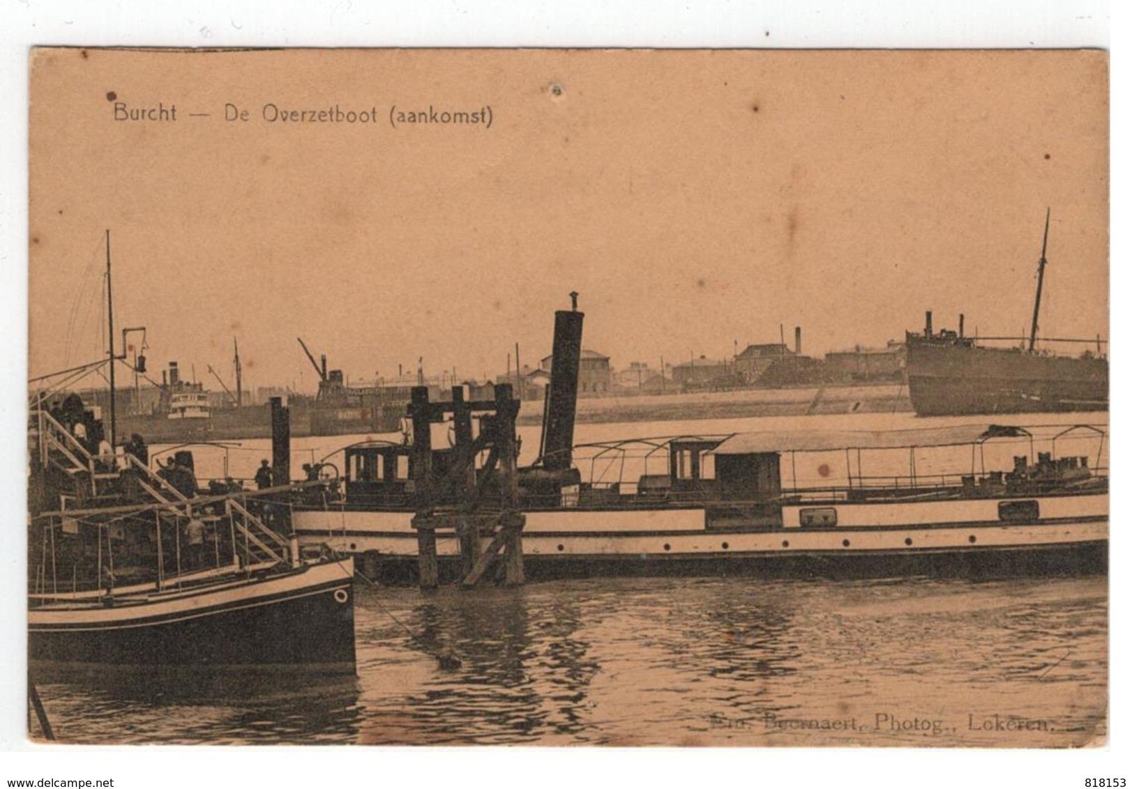 Burcht  -  De Overzetboot (aankomst)  Em.Beernaert , Lokeren - Zwijndrecht