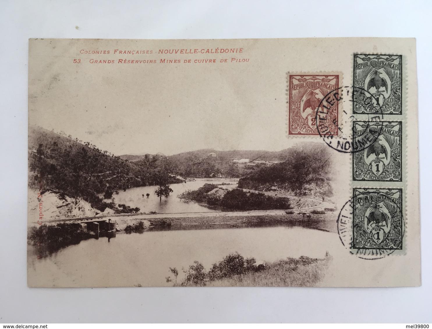 Colonies Françaises - Nouvelle Calédonie - Grands Réservoirs Mines De Cuivre De Pilou - Nouvelle Calédonie