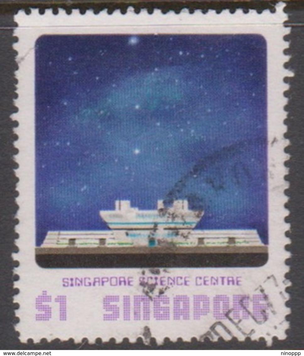 Singapore 322 1977  Science Centgre,$ 1.00, Used - Singapore (1959-...)
