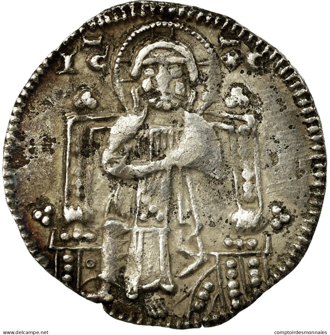 Monnaie, États Italiens, Piero Gradenigo, Grosso, 1289-1311, Venezia, TTB - Regional Coins