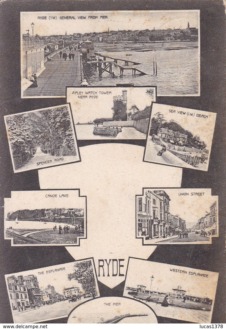 RYDE / MULTIVUES 1905 / - Angleterre