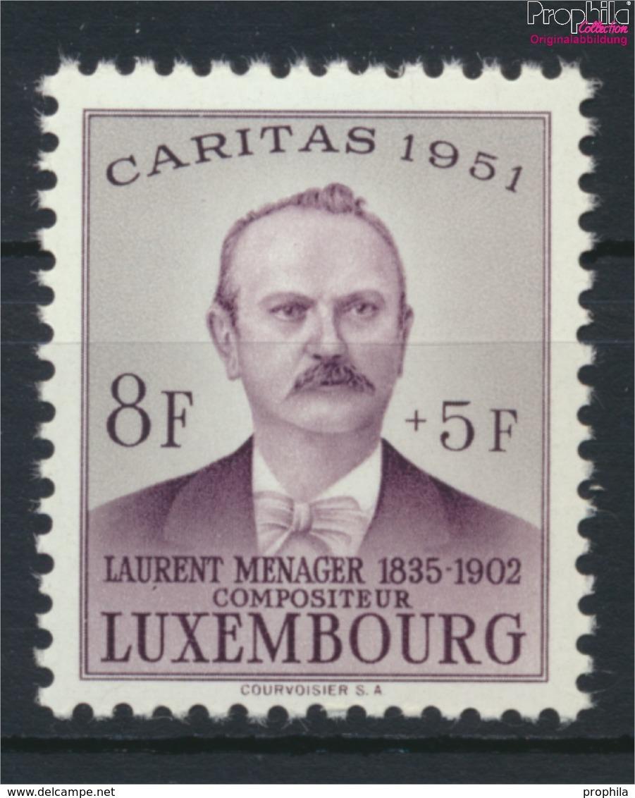 Luxemburg 487 Postfrisch 1951 Caritas (9256410 - Luxemburg