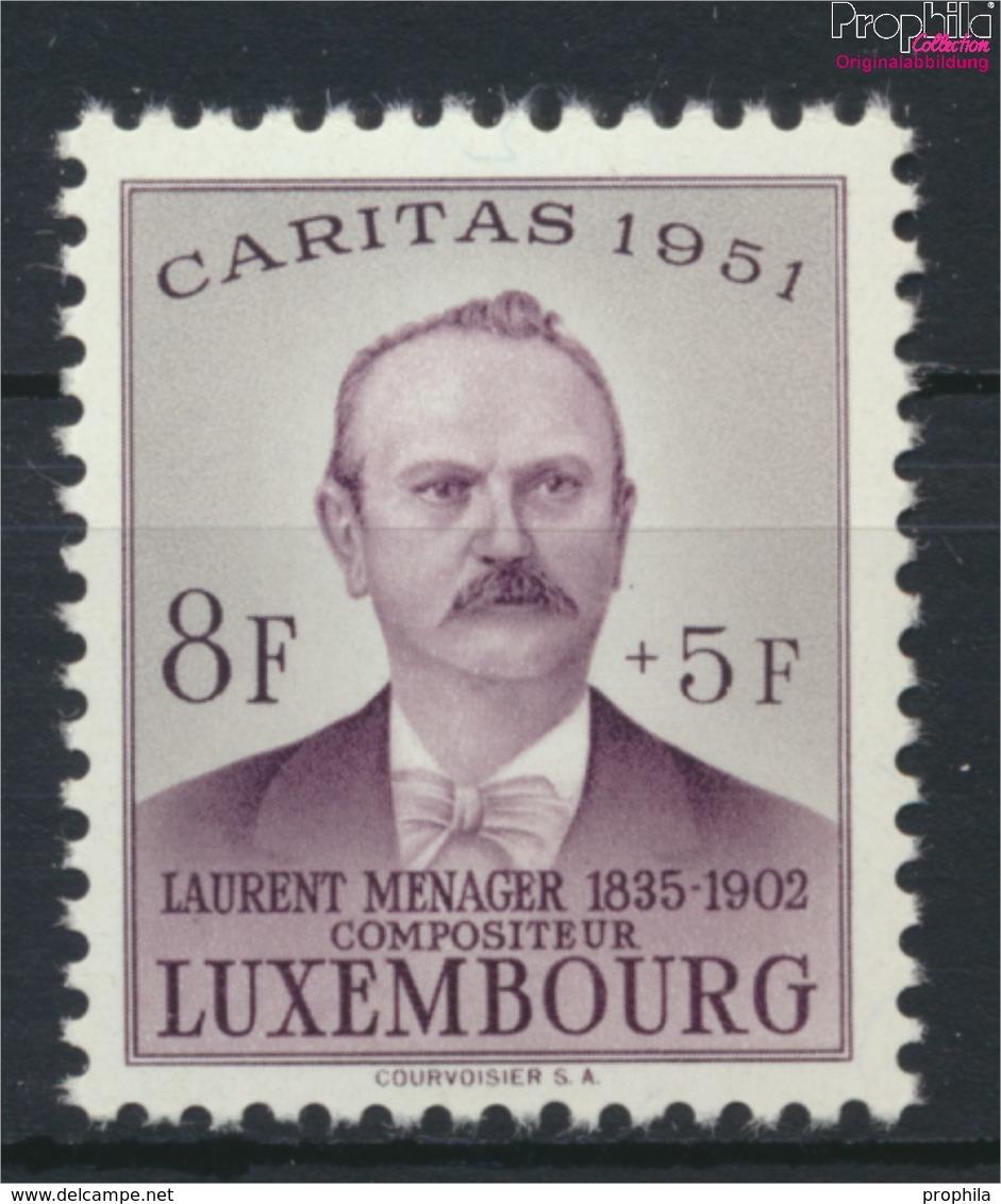 Luxemburg 487 Postfrisch 1951 Caritas (9256412 - Ungebraucht