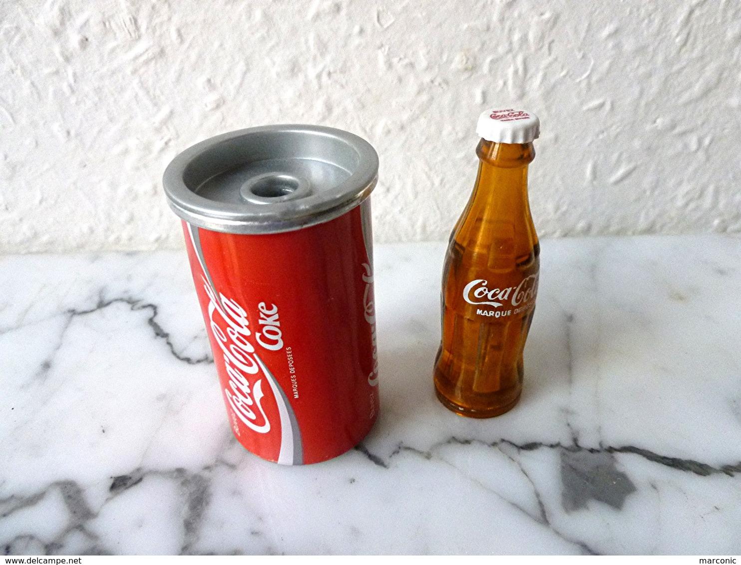 Publicité COCA COLA - Lot De 2 TAILLE CRAYON - Coca-Cola
