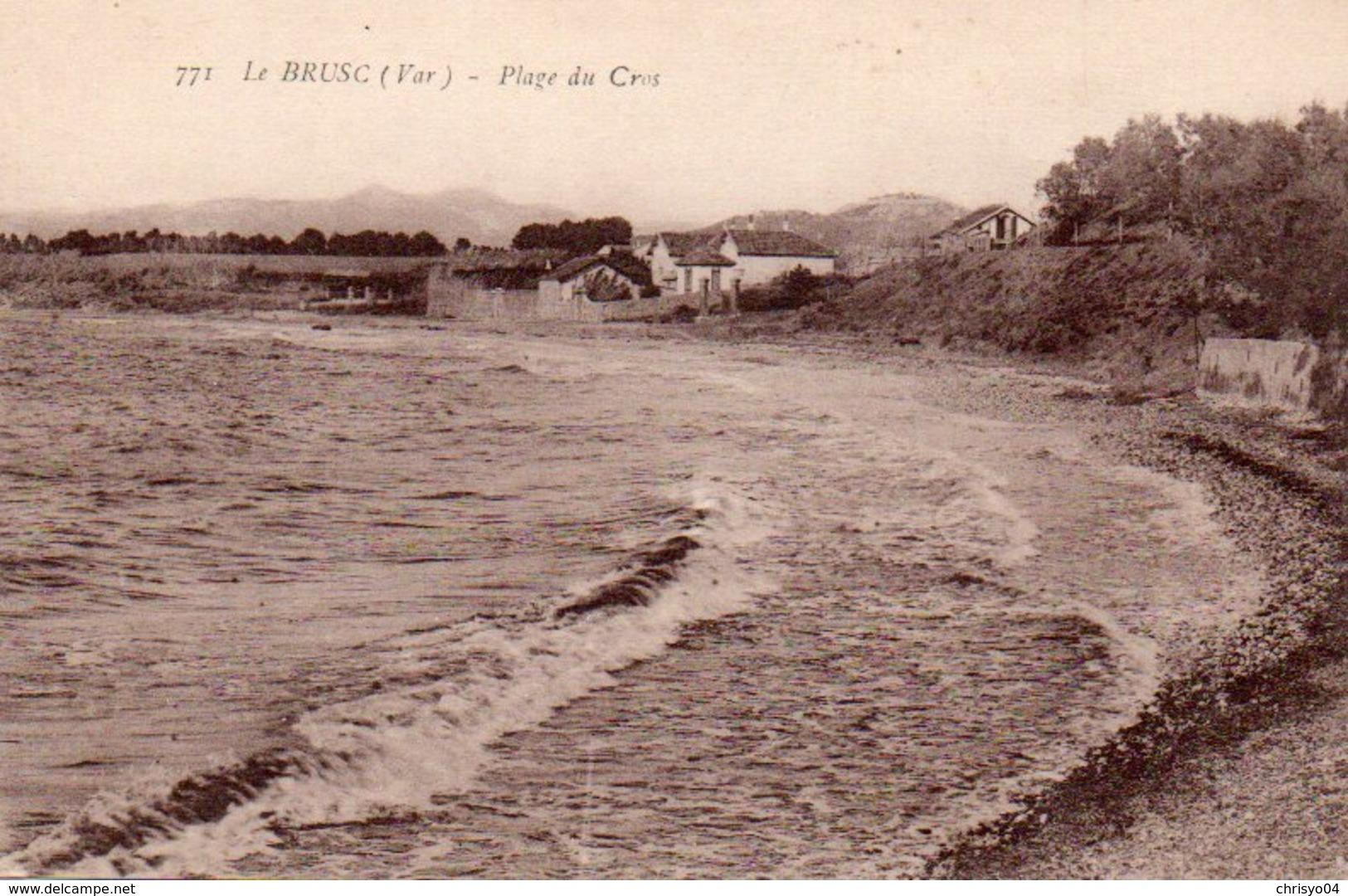 85Ct   83 Le Brusc Plage Du Cros En TBE - Other Municipalities