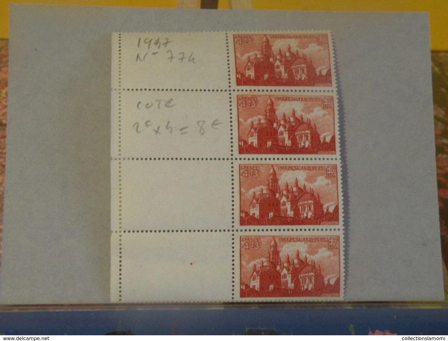 Timbres Neufs > St Front Périgueux - N°774 - Y&T 1947 - Coté 8€ - Unused Stamps
