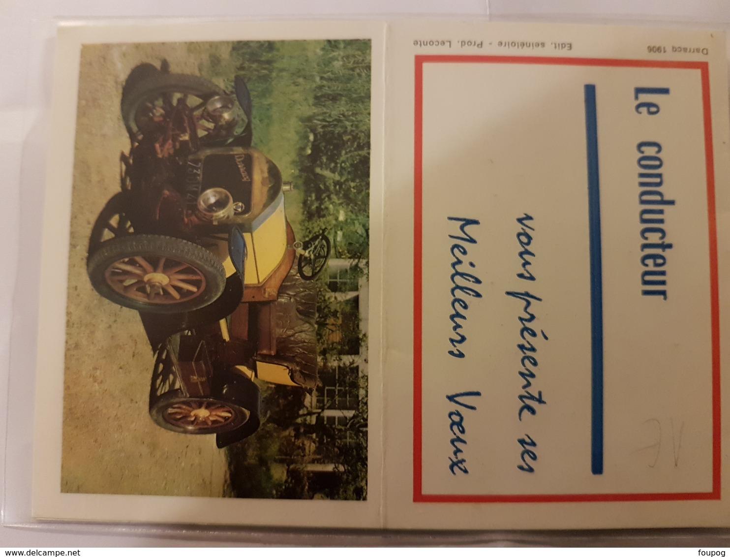 CALENDRIER 1968 LE CONDUCTEUR - Calendriers