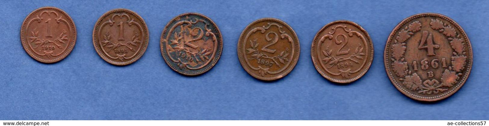 Autriche -  Lot De 6 Monnaies - Autriche