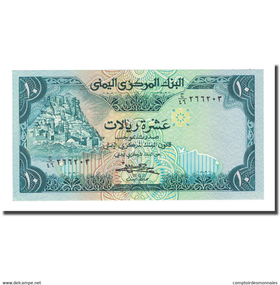 Billet, Yemen Arab Republic, 10 Rials, 1983, KM:18b, NEUF - Yémen