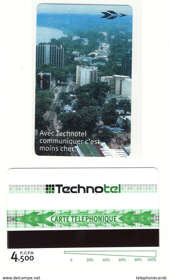 CONGO REP. Technotel___CNR-M-02___Urmet Magnetique 4500F___RRR - Congo