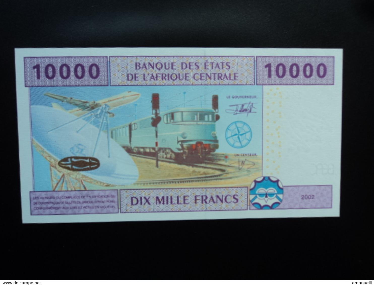 GUINÉE ÉQUATORIALE : 10 000 FRANCS  2002   P 510F     NEUF - Guinée Equatoriale