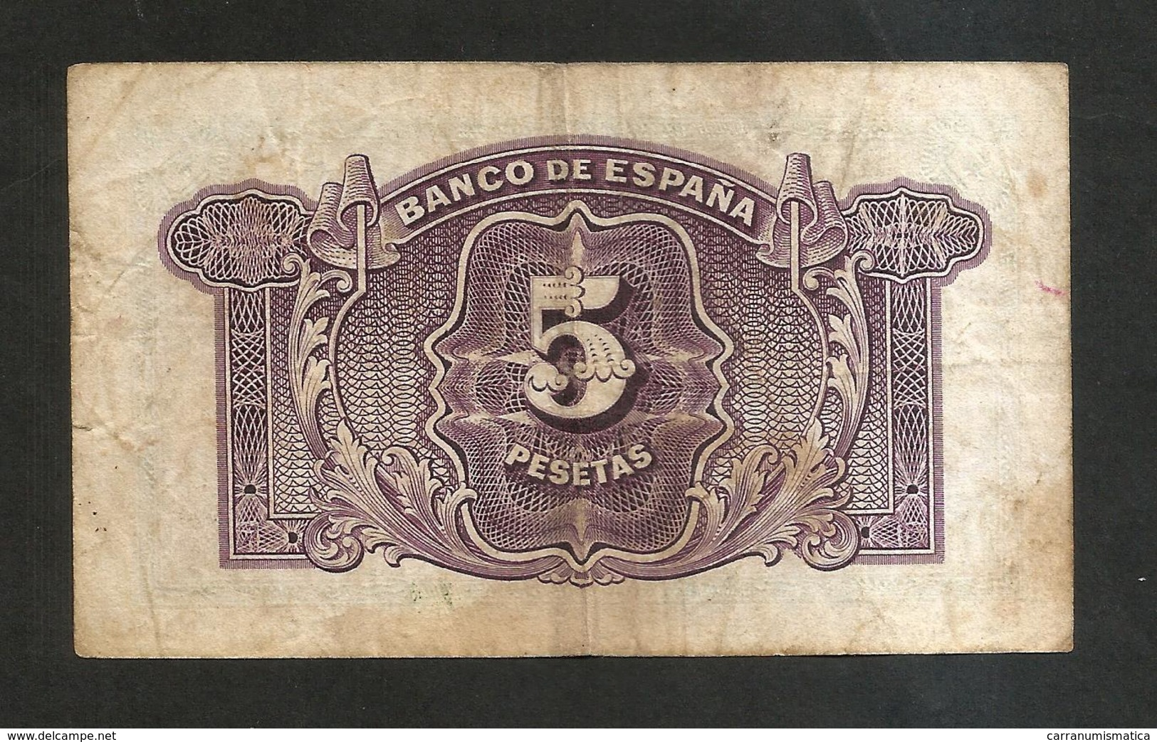 SPAGNA / SPAIN - 5 Pesetas (1935) - [ 2] 1931-1936 : Repubblica