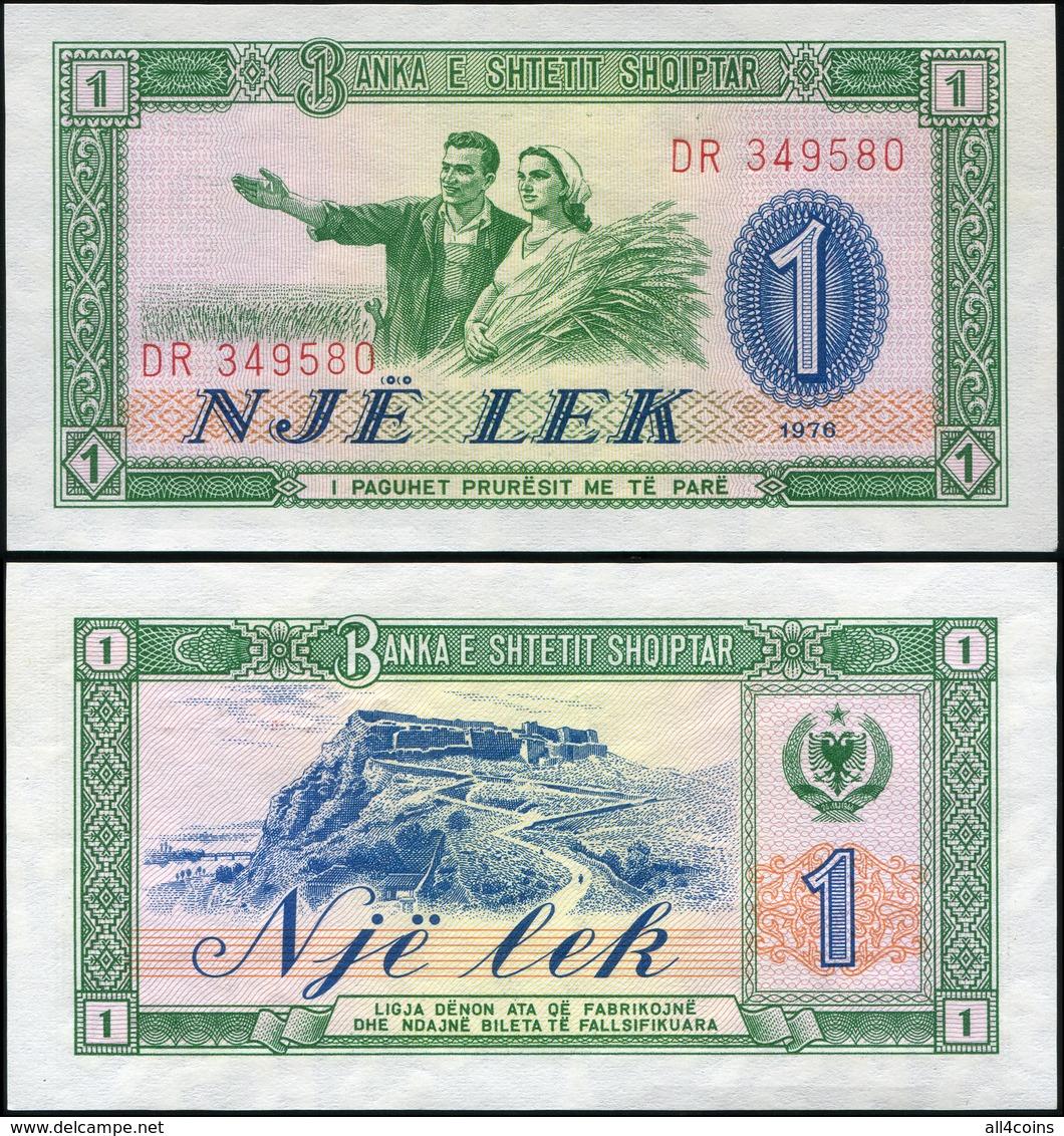 Albania. 1 Lekё (Unc) 1976. Banknote Cat# P.40a - Albania
