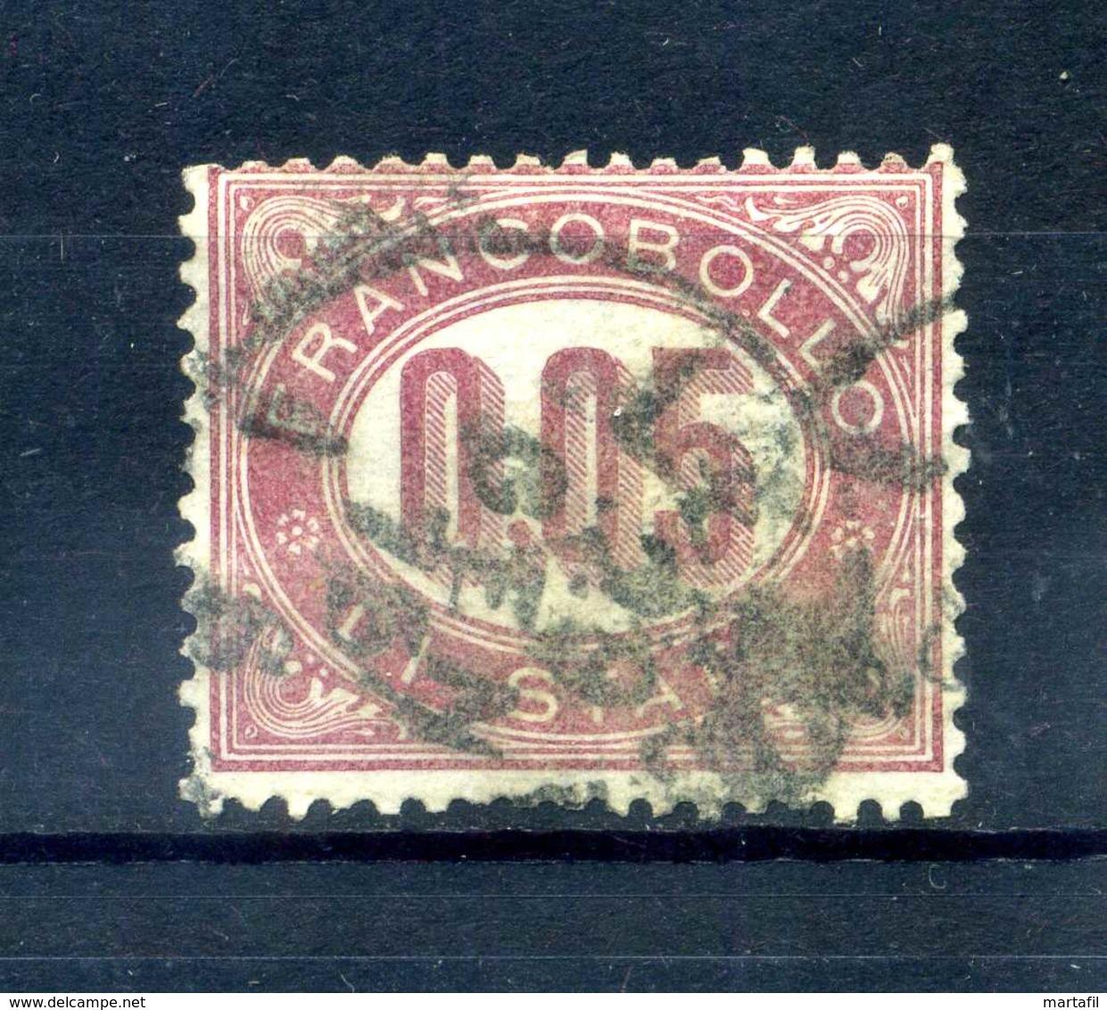 1875 REGNO SERVIZIO N.2 USATO - Servizi