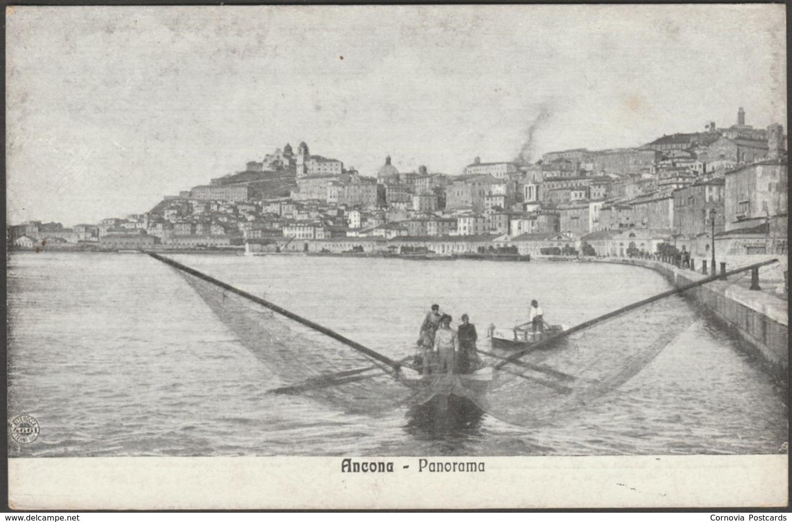 Panorama, Ancona, Marche, C.1910s - Alterocca Cartolina - Ancona