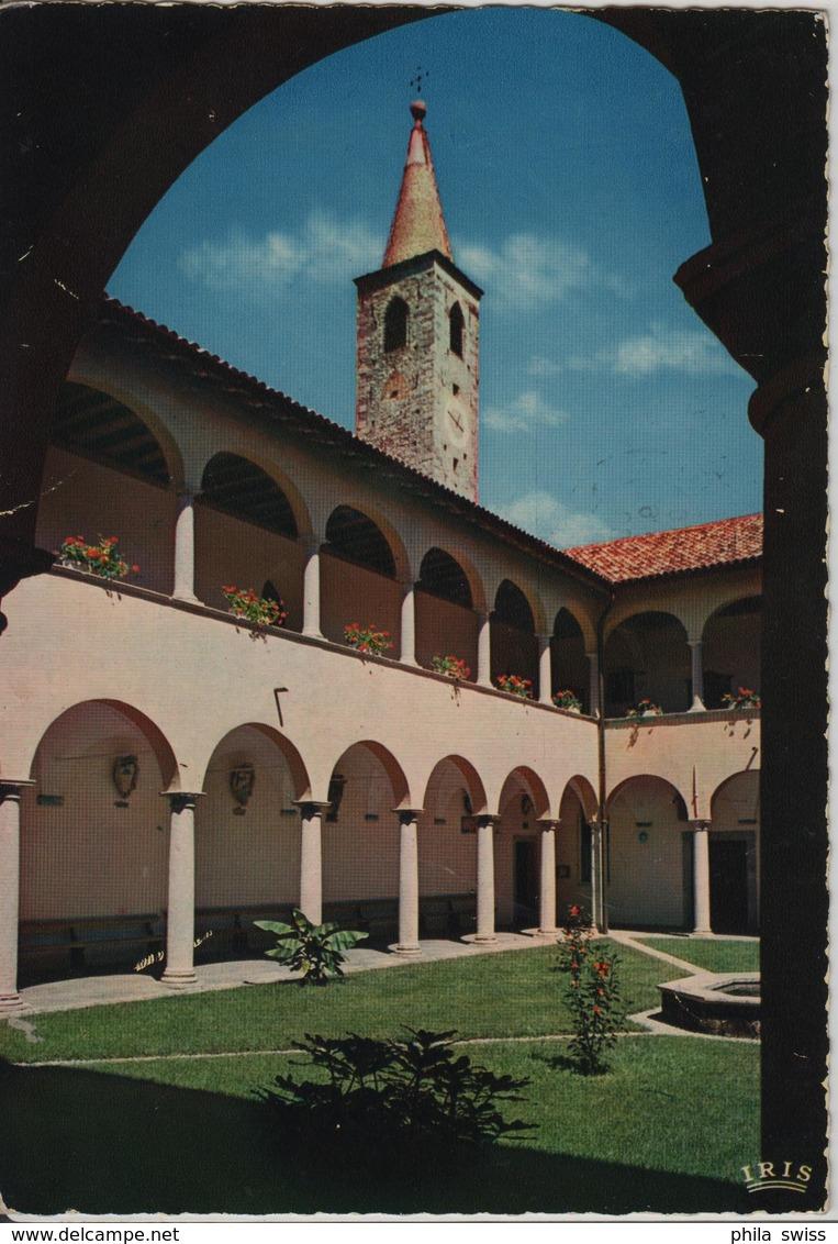 Ascona (Lago Maggiore) Chiostro Del Collegio Papio - TI Ticino