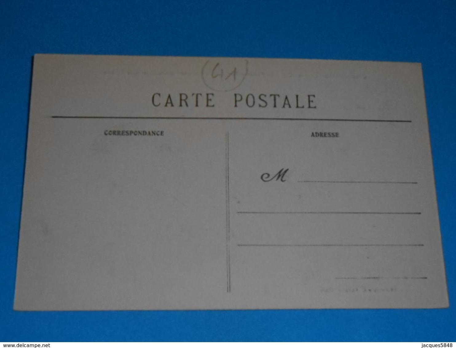 """41 ) Cour-sur-loire - Le Vivier - Bord De La Loire """" Embouchure De La Tronne """""""" -  Année  - EDIT - Vannier - France"""