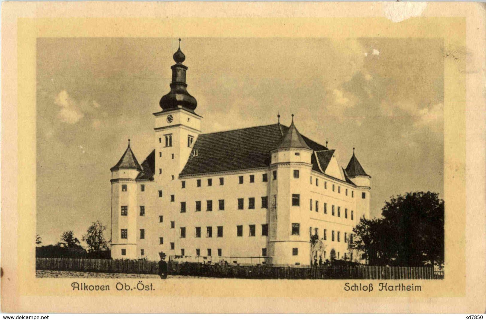 Alkoven - Schloss Hartheim - Österreich