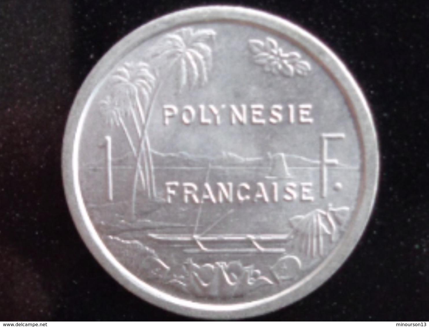 FDC 1 FRANC ALU 1975 - Polynésie Française