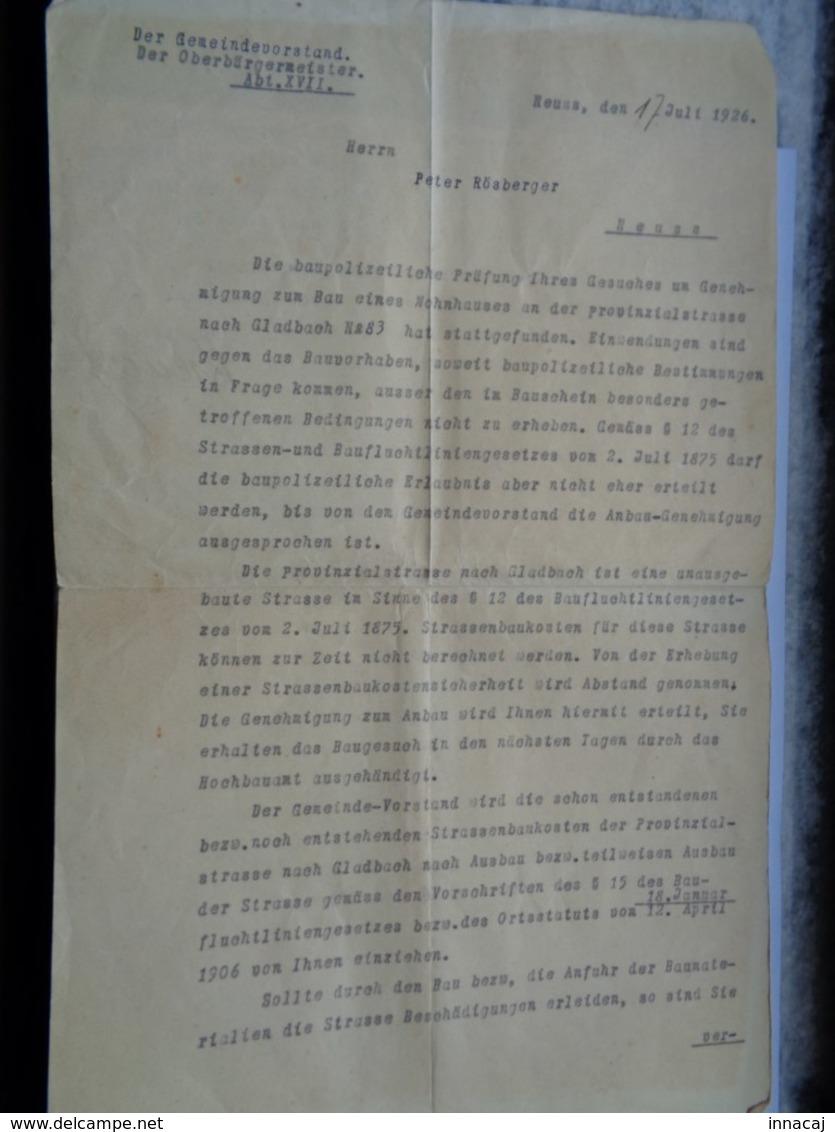 Réf: 59-10-47 / 49.       6 Documents Militaires.   Rôsberger Peter. - Documents