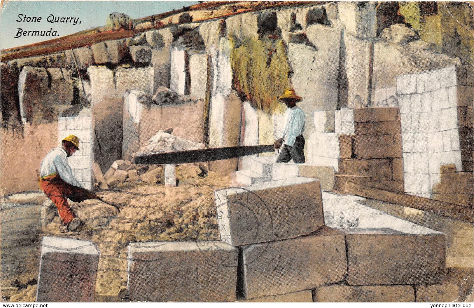 Bermuda / Belle Oblitération - 14 - Stone Quarry - Bermudes