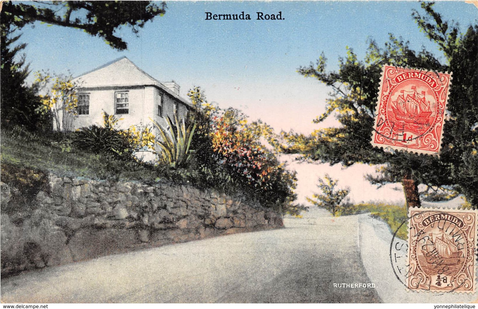 Bermuda / Belle Oblitération - 17 - Bermuda Road - Bermudes