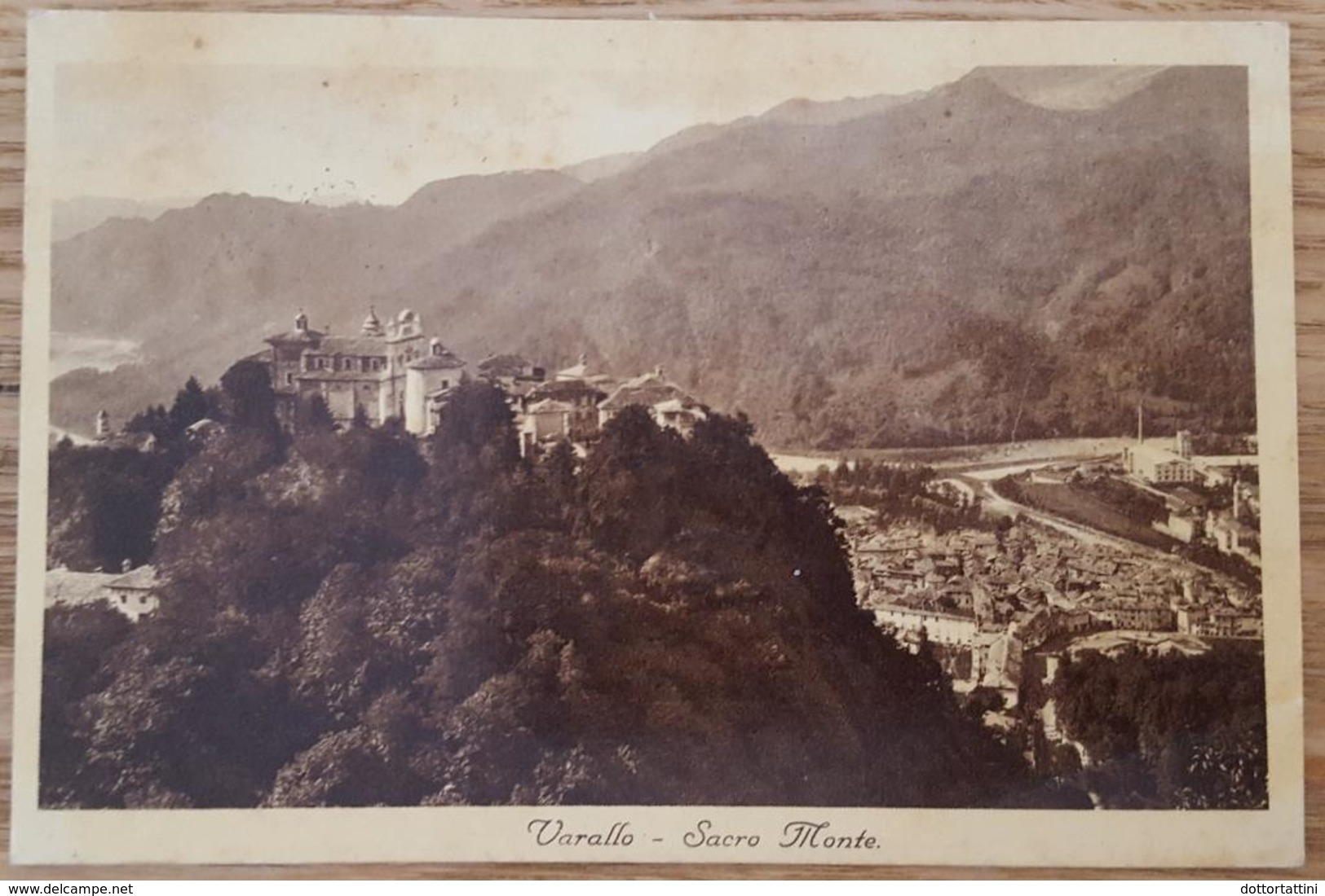 VARALLO (Vercelli) - Sacro Monte (Unesco Heritage) - Vg 1935 - Vercelli