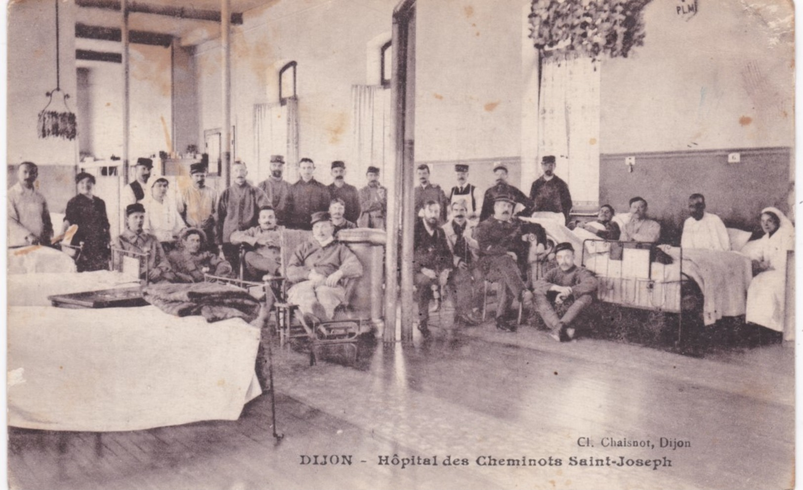 21 Côte D'Or - DIJON - Hôpital Des Cheminots Saint-Joseph - Dijon