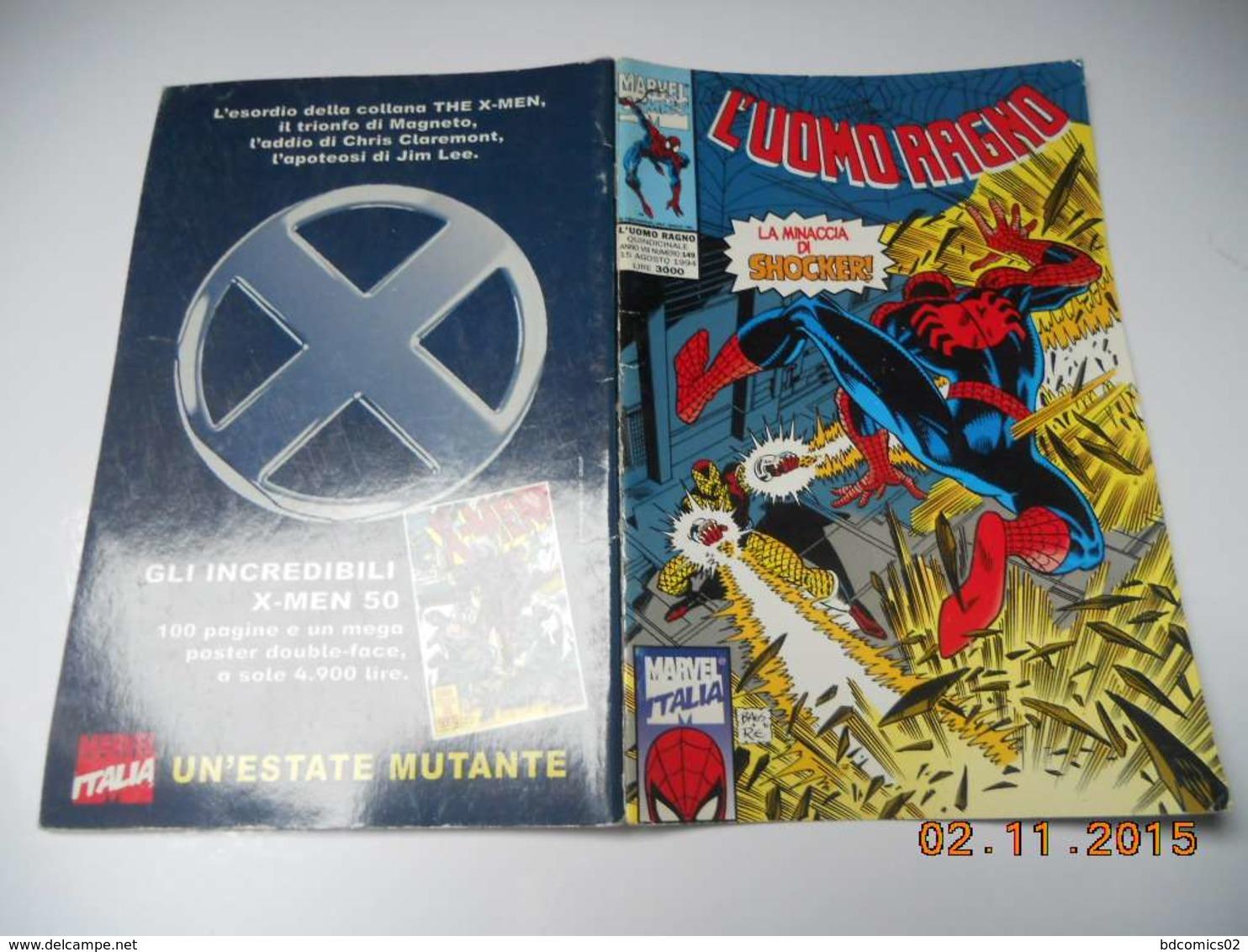 Marvel Comics L'uomo Ragno LA MINACCIA DI SHOCKER N°149 - Spider-Man