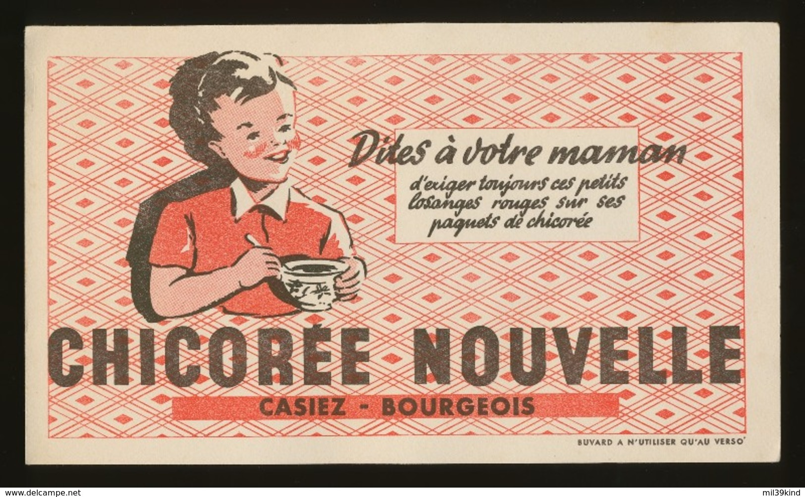 Buvard - CHICOREE NOUVELLE - Casier - Bourgeois - C