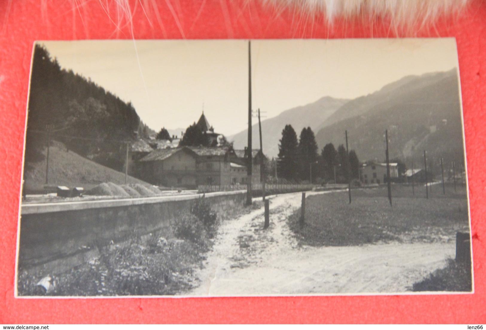 Val Gressoney Aosta Scorcio Rppc Ed. Ferrania NV  Agosto 1960 Scritto A Matita + Piccolo Taglio In Basso - Italie