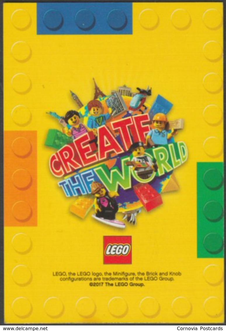 Lego Trading Card - Create The World - 133 Bear - Altri