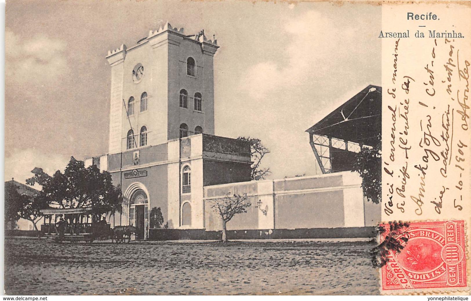 Brésil / Recife - 102 - Arsenal Da Marinha - Belle Oblitération - Recife