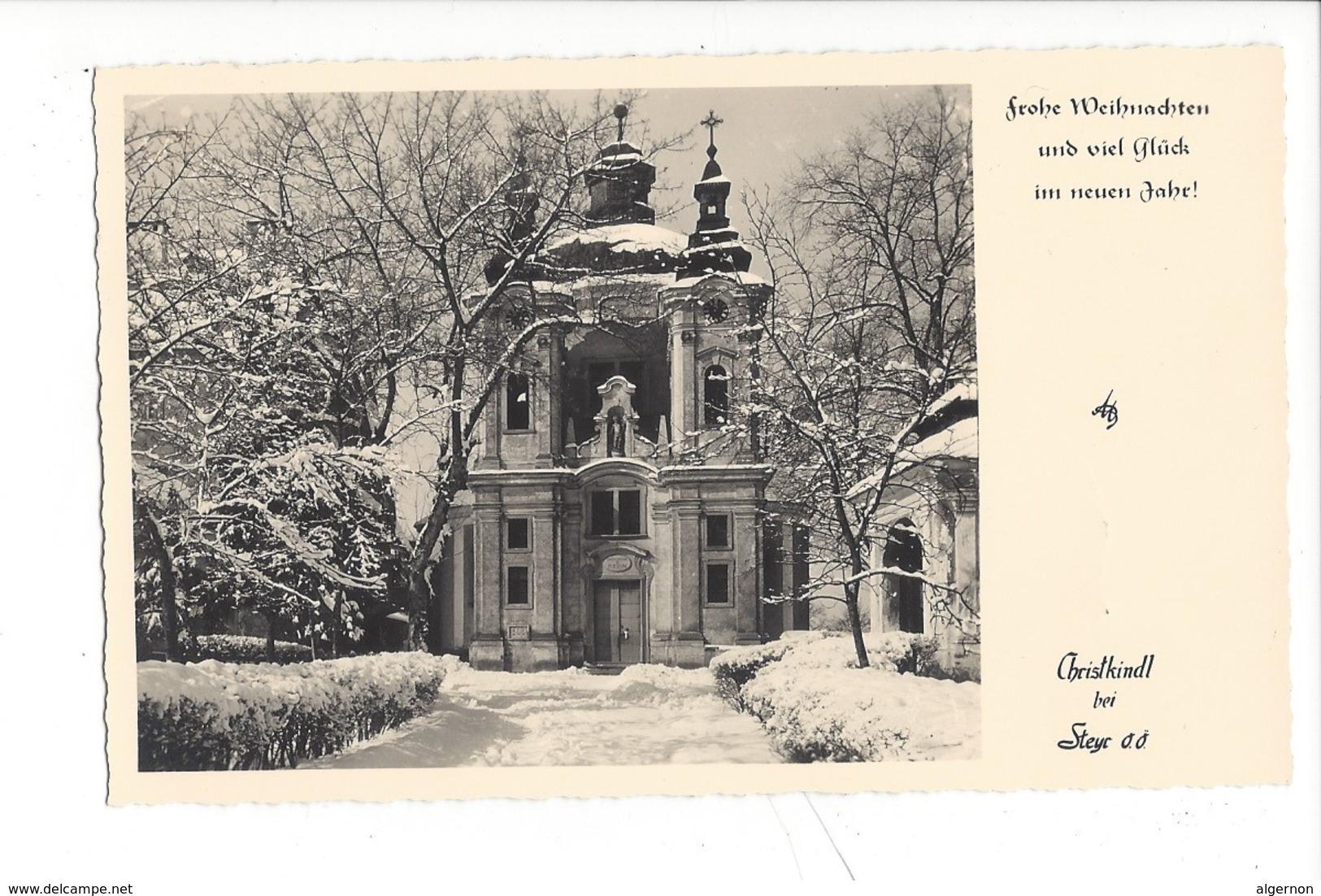 20943 - Christkindl 14.12.1958   Christkindl Bei Steyr + Vignette Über Christkindl - Altri