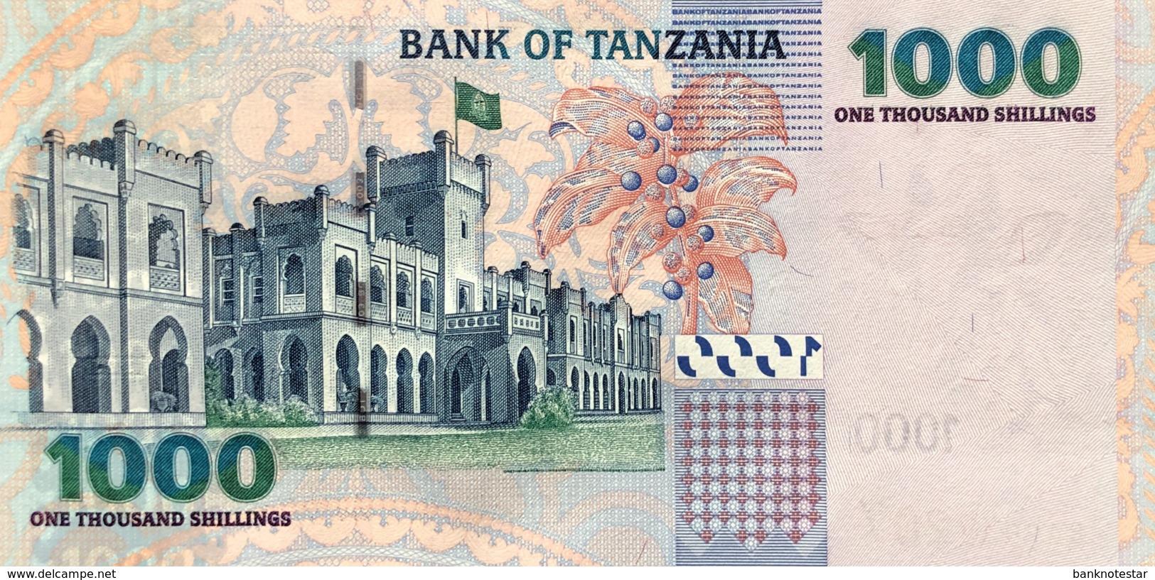 Tanzania 1.000 Shilingi, P-36b (2006) - UNC - Tanzanie
