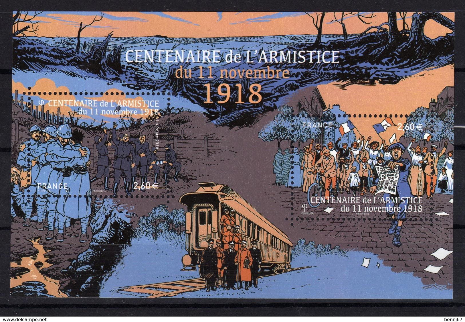 FRANCE 2018 Nouveauté Centenaire Armistice 1918 Bloc MNH ** - Neufs