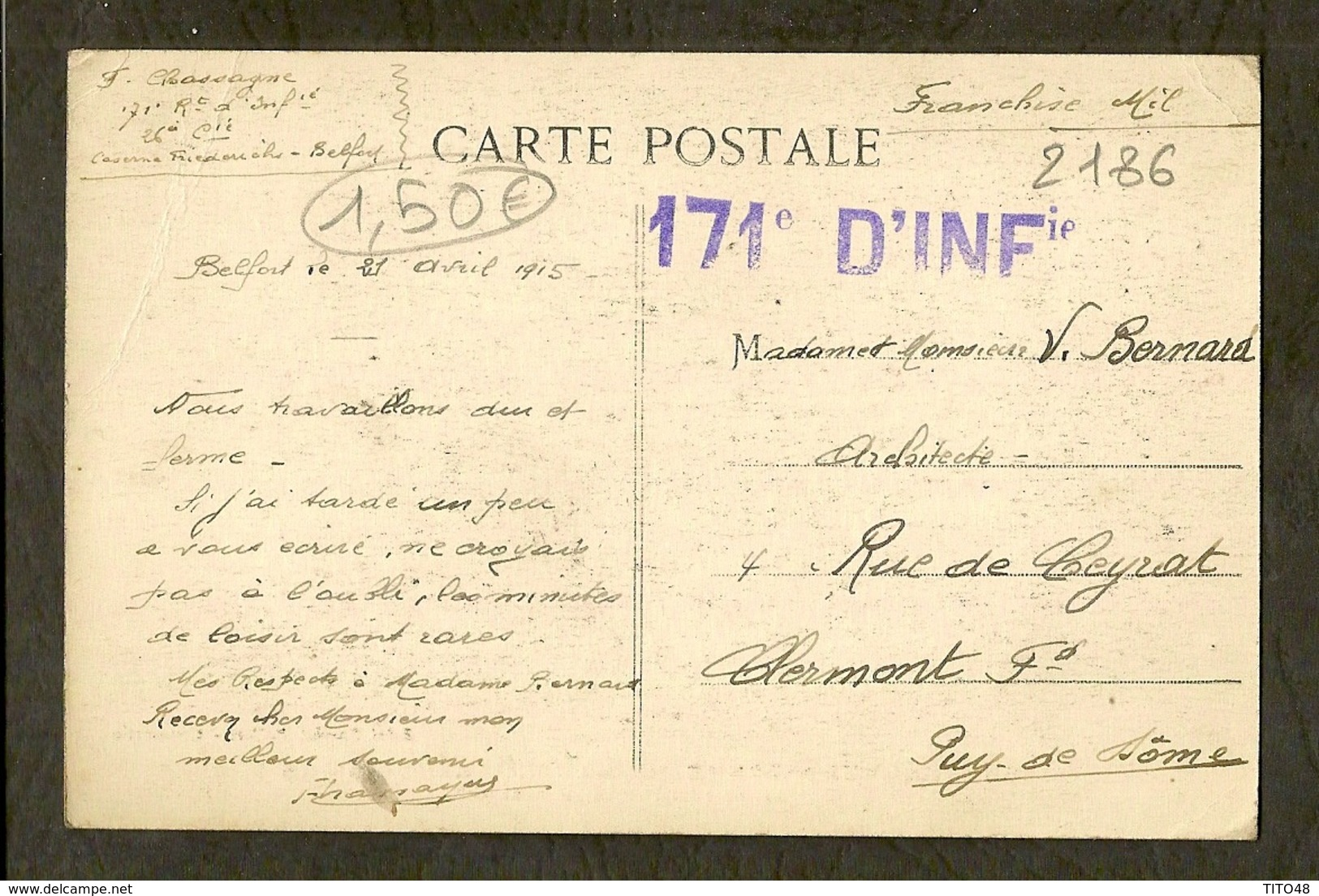 CP-Guerre Européenne - Haute-Alsace 1914-15 - Etablissement De Défenses Par Fil De Fer - Guerra 1914-18