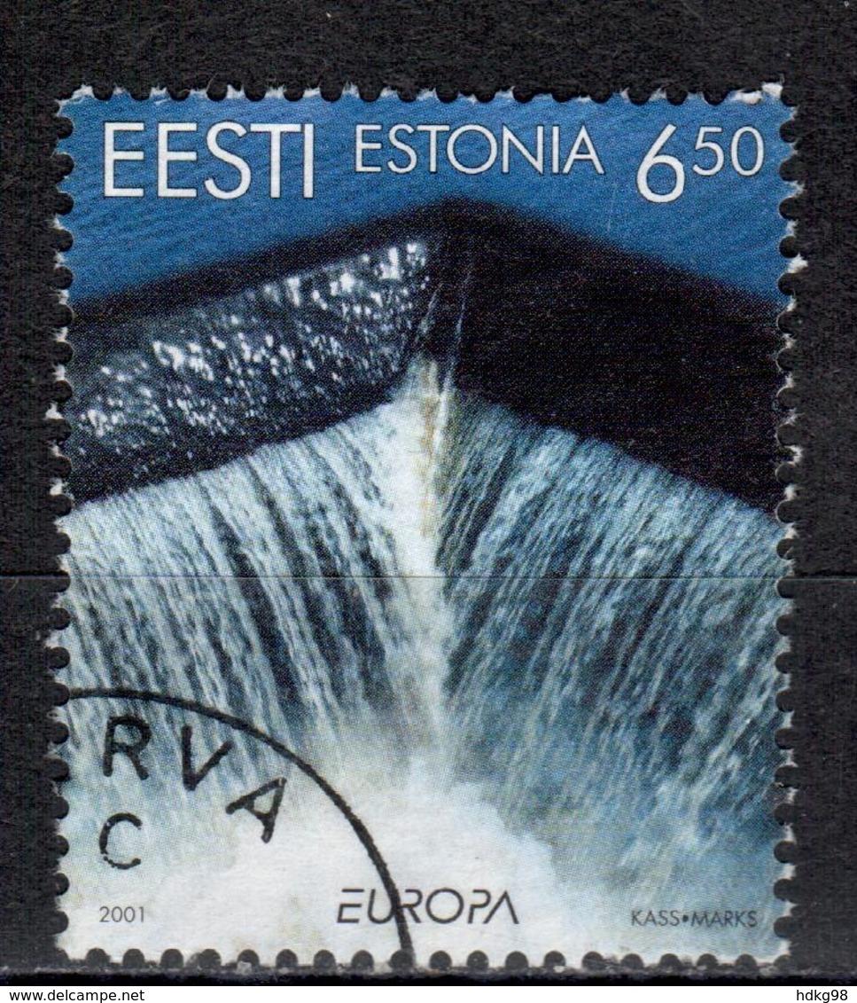 EE+ Estland 2001 Mi 399 EUROPA - Estland