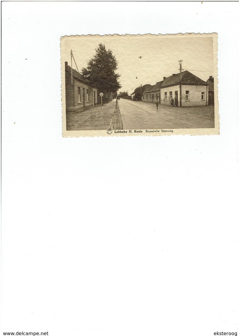 Lebbeke H. KRUIS - BRUSSELSCHE STEENWEG - Lebbeke