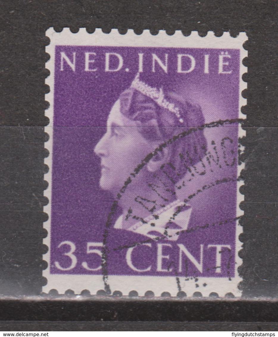 Nederlands Indie Netherlands Indies 280 Used ; Koningin, Queen, Reine, Reina Wilhelmina 1941 - Nederlands-Indië