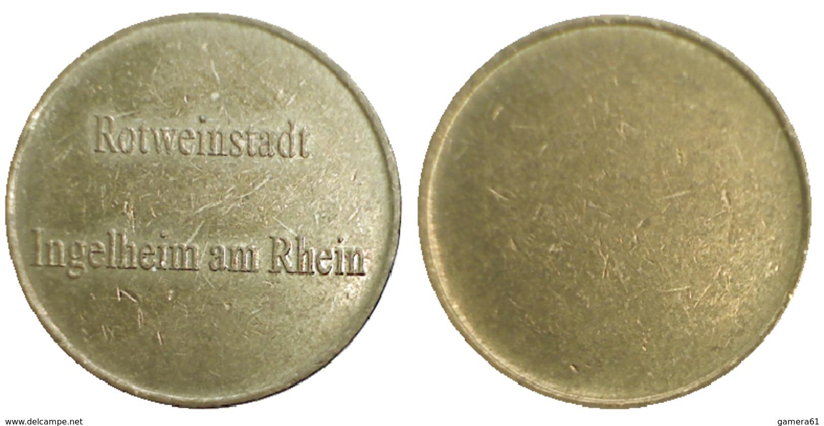 01774 GETTONE TOKEN JETON FICHA LOCAL ROTWEINSTADT INGELHEIM AM RHEIN - Allemagne