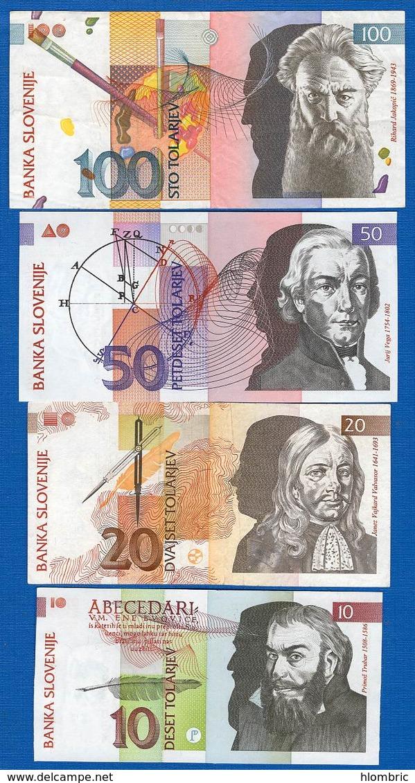 Slovénie  4  Billets - Slovénie