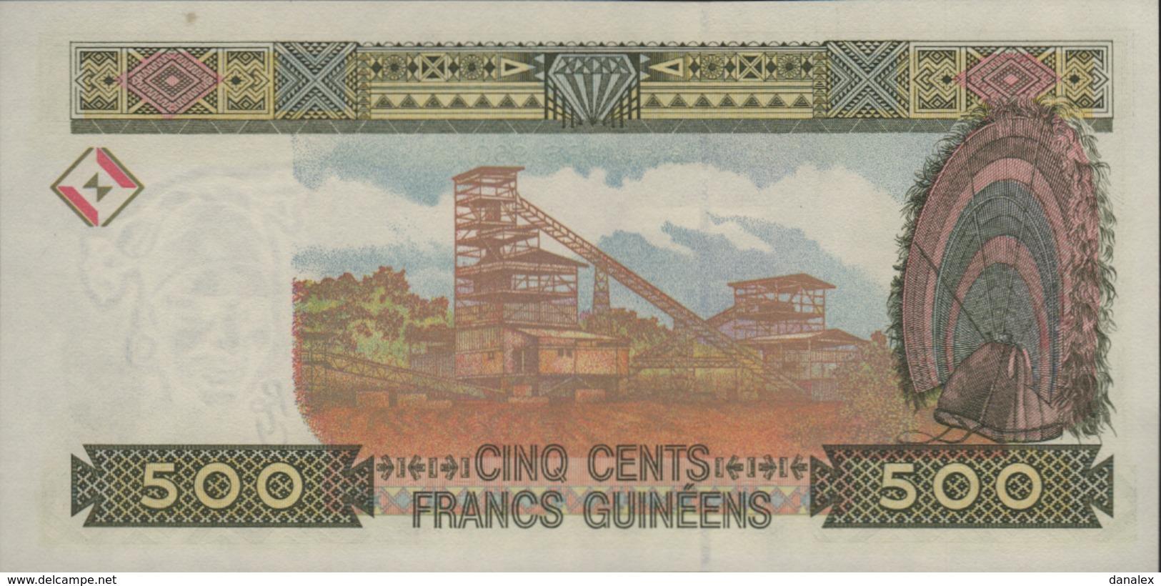 GUINEE 500 FRANCS GUINEENS De 1998  PICK 36  UNC/NEUF - Guinée