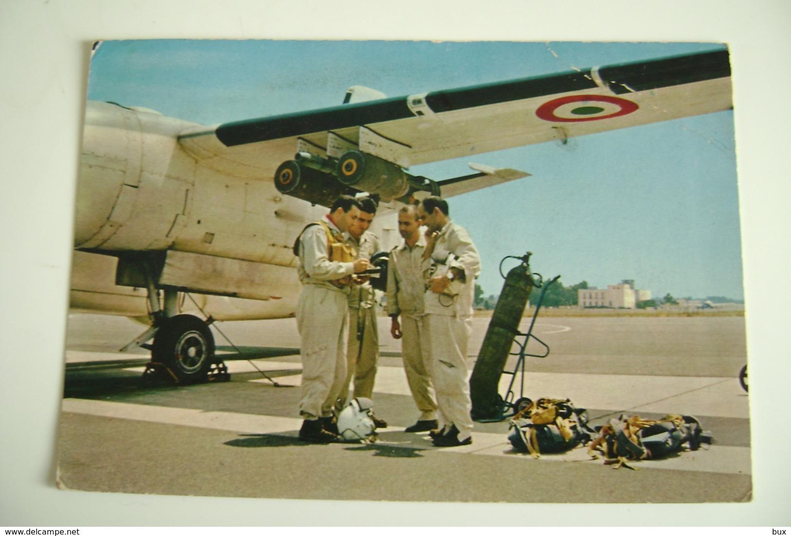 AERONAUTICA MILITARE ITALIANA      VIAGGIATA COME DA FOTO  AEREO AIRPLANE PIEGA ANGOLO - 1946-....: Modern Era