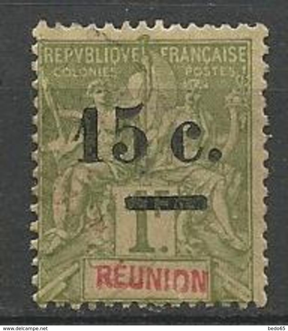 REUNION N° 55 OBL  TB - Réunion (1852-1975)