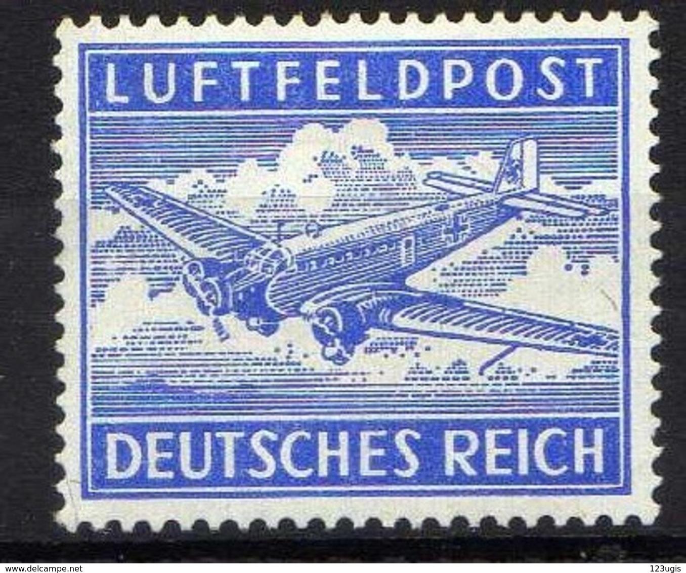 Deutsches Reich, Feldpost, 1942, Mi 1 A Z * [011218IX] - Deutschland