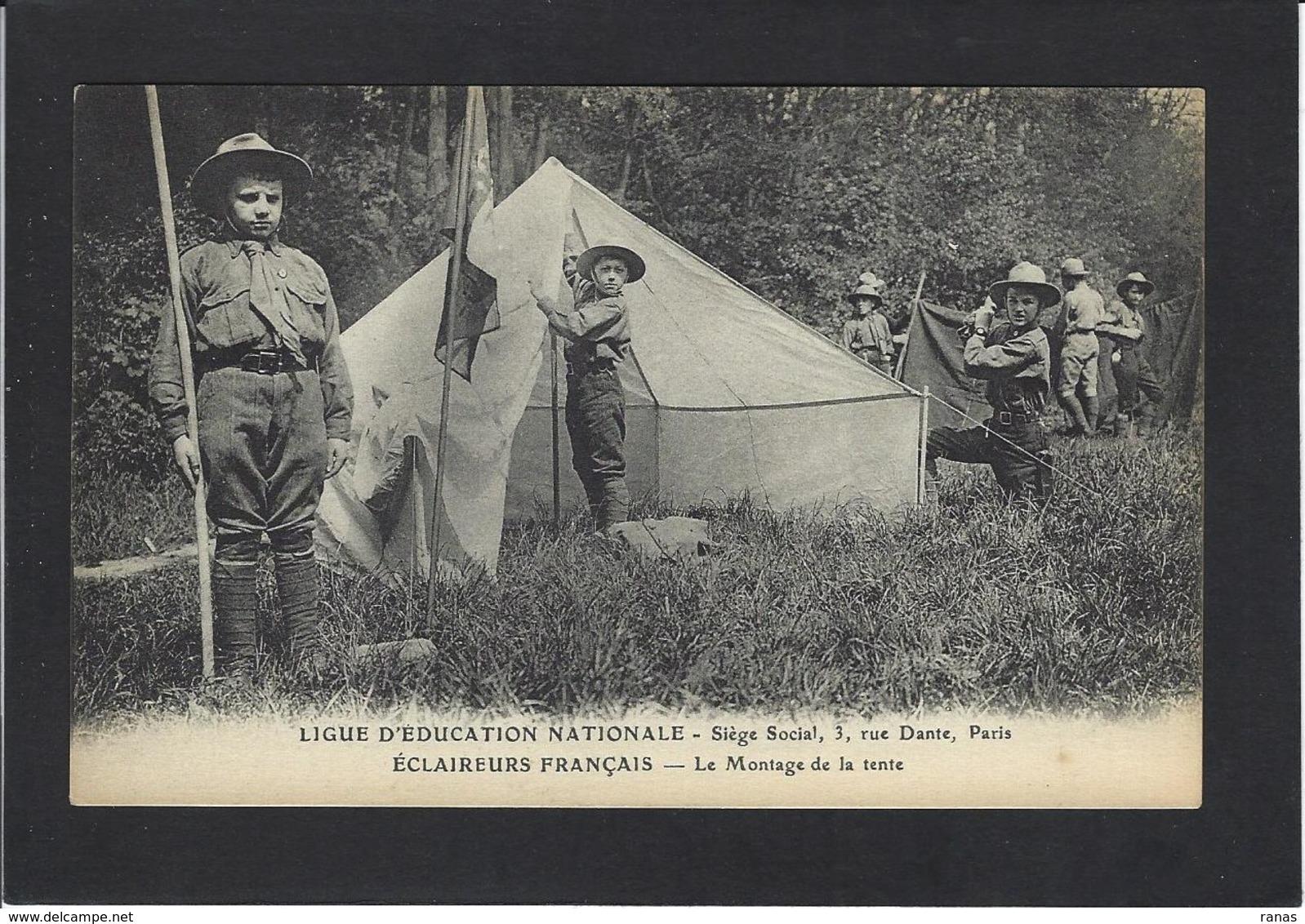 CPA Scout Scoutisme éclaireurs Non Circulé - Scoutisme